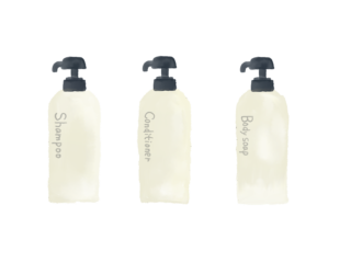 シャンプーボトル